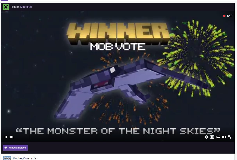 MINECON Earth Essenz Der Neuigkeiten RocketMinersde - Minecraft namen andern mojang