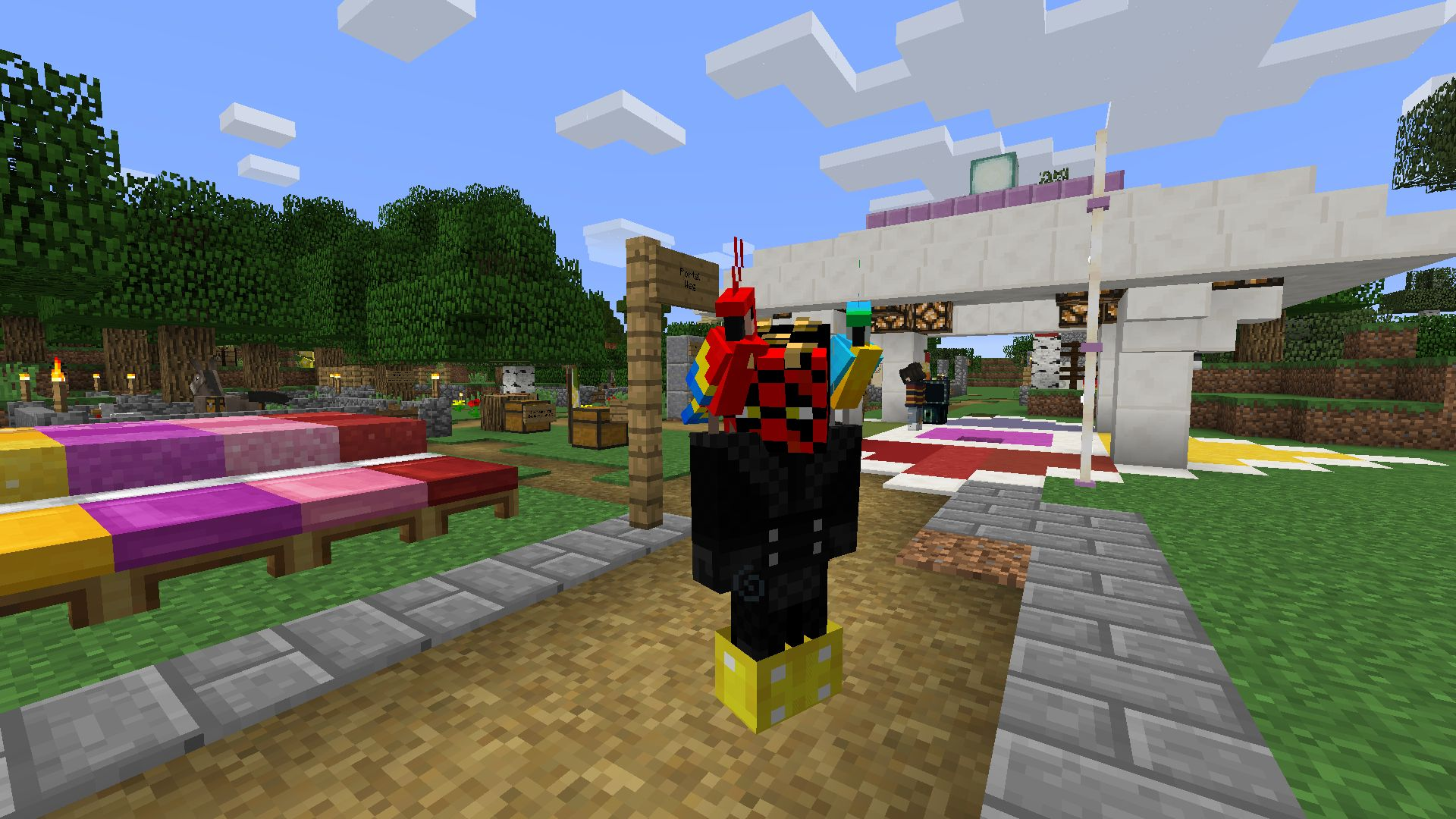 Improvisierter Spieleabend Auf Dem Ersatzserver RocketMinersde - Minecraft spiele ohne plugin