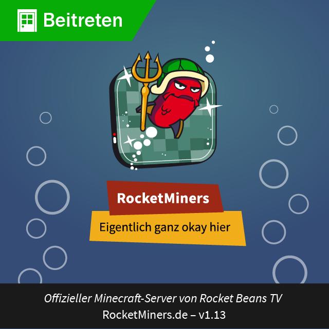 Spiel bei den RocketMiners